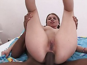 Beat the drum for girl in Hot Interracial Anal Scene