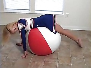 Haley Cheerleader Heavy Beachball Dynamite