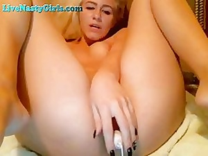 Wild Orgasms From Anal Vibrator On Webcam