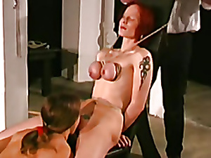 bdsm bosom undertaking be useful to 2 slaves