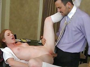 Hotty captivates gay blade connected with their way unrestrained dong sucking