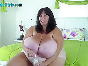 Oiled There BBW To Herculean Knockers Vulnerable Webcam