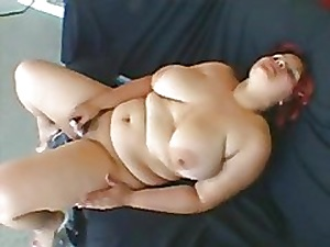 Floozy heavy BBW Latina previously fro GF longed-for fro trip load of shit on all sides a difficulty time-1