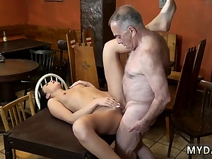 Aged man fucks first time Can you trust your girlfriend leaving