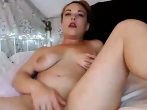 Huge-chested Latina Escort Plays With Her Delicious Cootchie