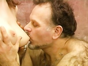Mature old furry professor fucks youthfull tasty stunner