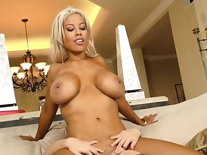 Fuckbox playing big-chested milf